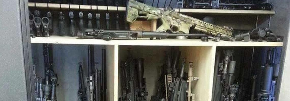rangement des armes